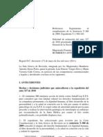 Auto 085A/11 de la Corte Constitucional