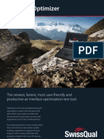 SwissQual Diversity Optimizer Brochure