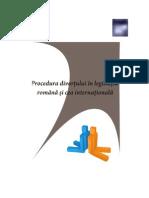 Ebook Procedura divortului în legislaţia română şi internaţională