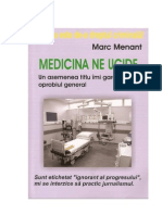 Marc Menant - Medicina Ne Ucide