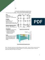 Análisis Modal Espectral de Un Edificio de 4 Niveles