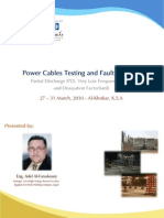 Power Cables Testing Fault Location - KSA