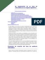 Propuesta auditoría en informática en un órgano legislativo