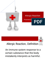 Allergic Reaction Cme SARAH
