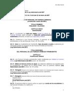 Ley de Personal de Las Ff.aa