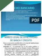 II DERECHO BANCARIO
