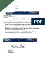 Rick Perry's TARP Letter