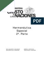 Hermeneutica Especial 2a Parte
