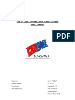 The EU-China cooperation in sustainable development