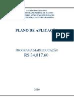 12.PLANO DE APLICAÇÃO 2010