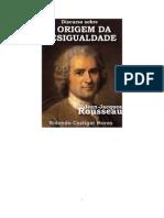 Rousseau - Discurso Sobre a Origem Da Desigualdade