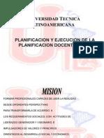 Presentacion sobre planificacion