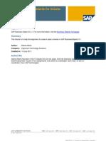 SAP BOXI 31 Tutorial to Create Basic Universe