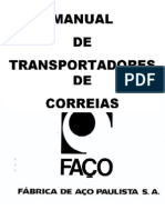 MANUAL DE TRANSPORTADORES DE CORREIA FAÇO