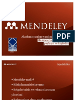 2011-Mendeley Teaching Presentation TR