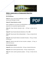 Regras Stock Car NEOF1BR