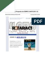 10-[ Rotaract 4670 ] Proposta Da ODIRC D.4670 2011-12