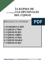 Guía Rápida  De Tarjetas Opcionales  Del CQM1H