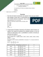 Probabilidade e Estatística Unidade_7_-_Exercicio