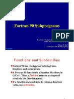 F90-Subprograms