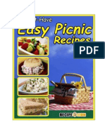 21 Must Have Easy Picnic Recipes eCookbook