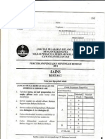 2011 percubaan pmr sains (kelantan) - k2