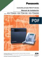 Manual de Instalacion TDA30
