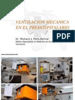Ventilacion Mecanica en El Pre Hospital a Rio
