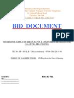 Tendering Documents