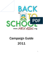 The 2011 Back to School Campaign Guide