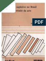 O Ensino Supletivo No Brasil - o Estado Da Arte - S HADDAD