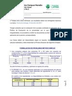 MBUSTAM4 Programacion Lineal - Trabajo Extraclase No.2 Simplex