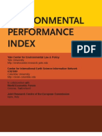 2011.03.23 Enviromental Performance Index