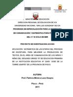 Proyec. Investigacion Accion Patricia Lazo