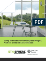 Survey on the Influence of Workplace Design and Practices