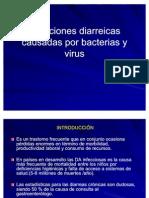 Diarreas Bacterianas y Virales
