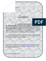 """Seminario en Petorca """"Fumigación Aérea y Salud"""""""