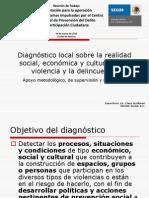 Diagnostico Local Realidad Social Economica Cultural Violencia Delincuencia