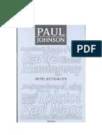 Johnson Paul - Intelectuales