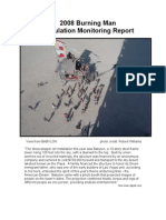2008 Burning Man Stipulation Monitoring Report