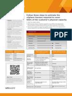 vSphere 5 Licensing Cheat Sheet