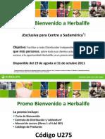 PPT Promo Bienvenido a Herbalife