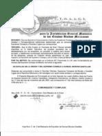 Expulsion del SCM de Samuel Moreno Santillan