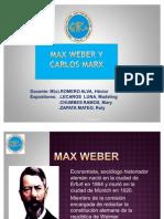 Max Weber & Carlos Marx