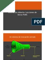 1. Innovacion Abierta _ Lecciones de Xerox