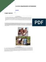 Comidas y Trajes Tipicos de Los Departamentos de Guatemala