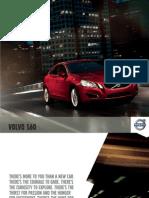 Volvo 2012 S60 Brochure
