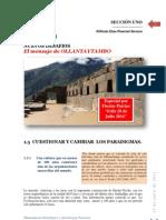Planeamiento Estatégico_Mensaje de Ollantaytambo