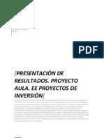 Proyecto Aula Formato de Reporte