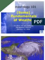 Nese Meteorology 101